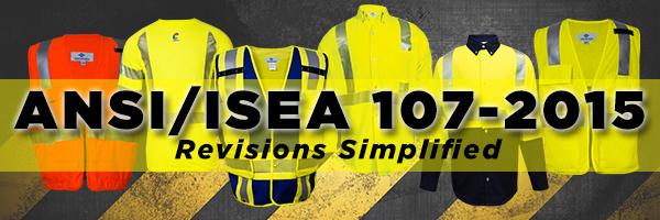 ANSI/ISEA 107-2015 updates