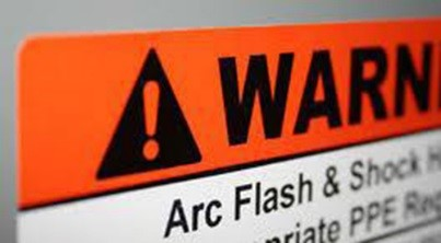 Arc Flash Warning Sign