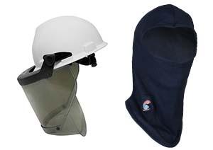 FR Head Protection Face Shield and Balaclava