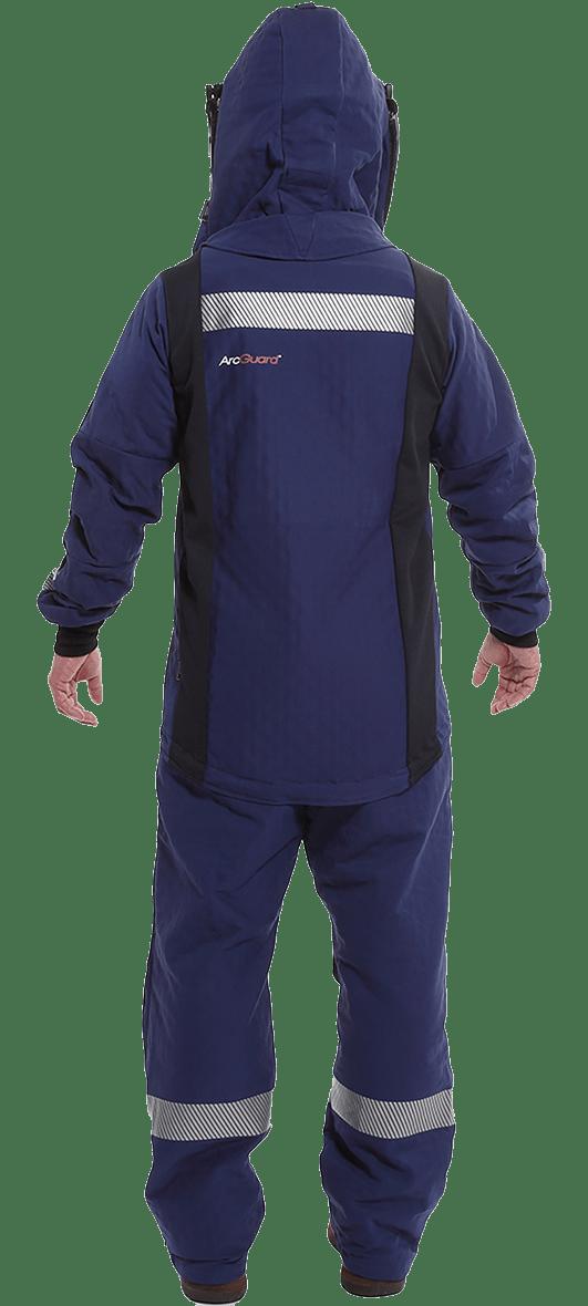 ArcGaurd 40 cal Arc Flash Suit Back Image
