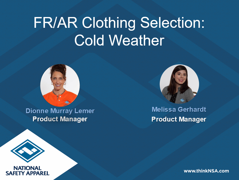 Selecting FR Clothing for Cold Weather